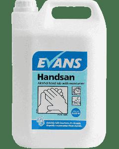 Evans Handsan Hand Sanitiser 5ltr
