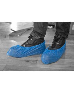 """Plastic Overshoe Blue - 16"""""""