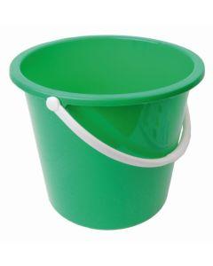 Plastic Bucket Green 10Ltr