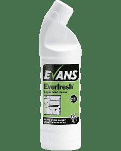 Evans Everfresh Toilet Cleaner - APPLE 1ltr
