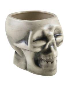Genware White Skull Tiki Mug 80cl/28.15oz