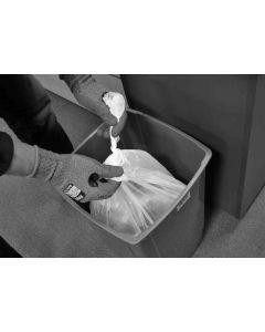 Swing bin liners 13 x 23 x 30 white (1000's)