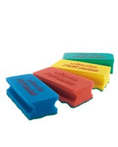 Vileda PUR Active Sponge Scourer - Green