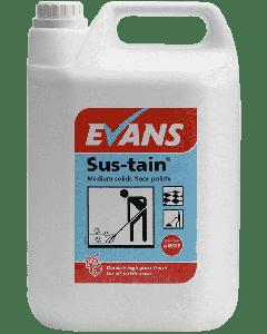 Evans Sustain (Sus-Tain) Floor Polish 5ltrs