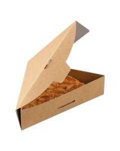 Kraft Pizza Slice Tray With Hinged Lid Kraft